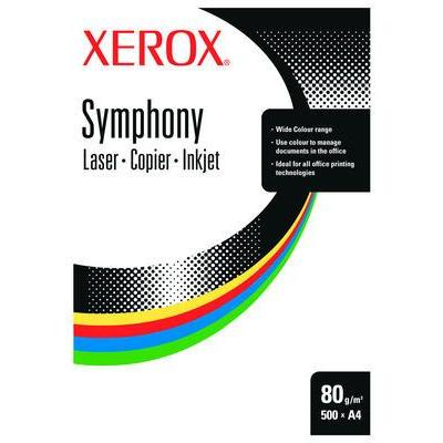 Xerox papier: Symphony A4 160g/m² Ivory 250 Sheets - Ivoor