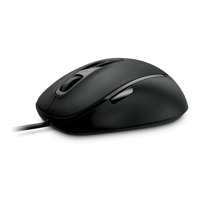 Microsoft computermuis: Comfort Mouse 4500 for Business - Zwart
