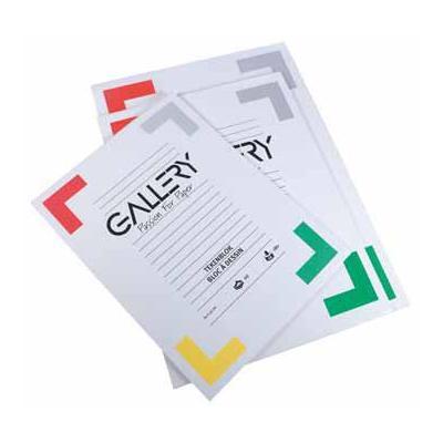 Gallery tekenpapier: TEKENBLOK 190GR 24 X 32 20 BL.