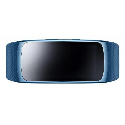 Samsung wearable: Gear Fit2 - Blauw