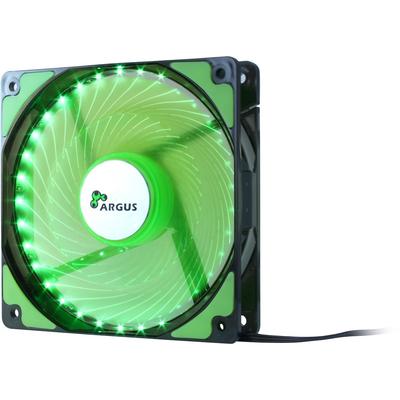 Inter-Tech L-12025 Hardware koeling - Zwart, Groen