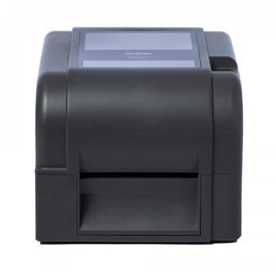 Brother TD-4420TN Thermo-transfer met Ethernet Labelprinter - Zwart