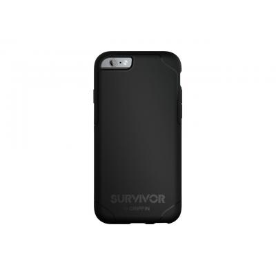 Griffin mobile phone case: Survivor Journey - iPhone 6/6s Plus - Grijs, Zwart