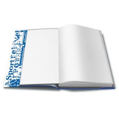 Herma tijdschrift/boek kaft: 28300 - Blauw