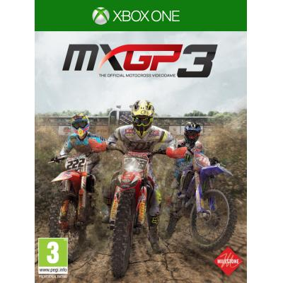 Milestone srl game: MXGP 3, The Official Motocross Videogame  Xbox One