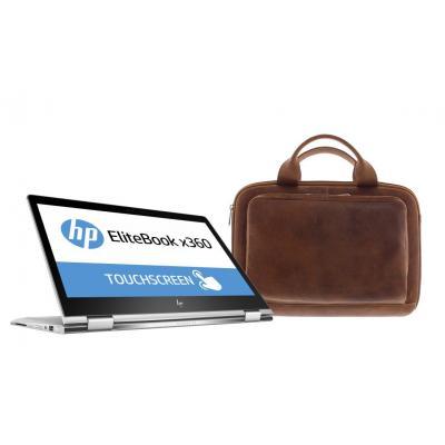 Hp laptop: EliteBook x360 1030 G2 + Premium sleeve  - Zilver