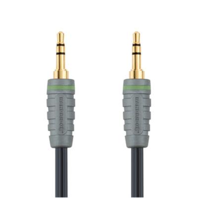 Bandridge Audiokabel voor draagbaar apparaat 1.0 m - Blauw