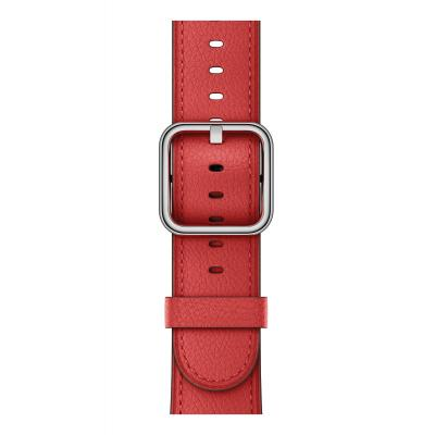 Apple : 38mm Red Classic Buckle
