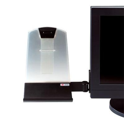 3M Documenthouder, Voor Flatscreen, 255 x 230 x 70 mm Ordner - Zwart