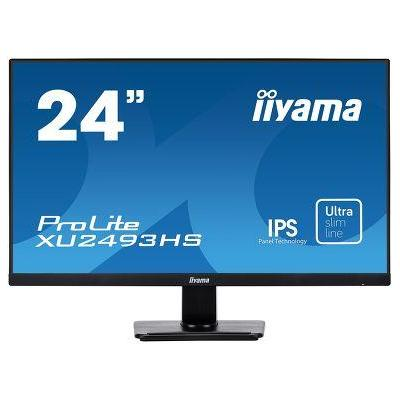 "Iiyama monitor: ProLite 23.8"" IPS monitor with ultra-slim bezel and ultra-flat front - Zwart"