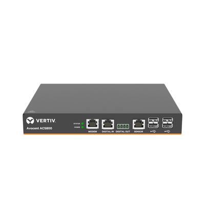 Vertiv Avocent ACS808MEAC-202 Console server - Zwart