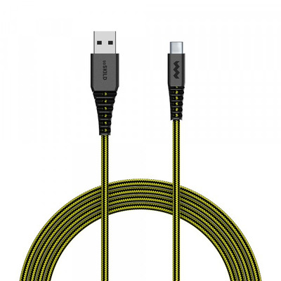 SoSkild OplaadUSB-C, Levensduur van 22 jaar, 1.5 m, Zwart Geel Kabel - Zwart, Geel