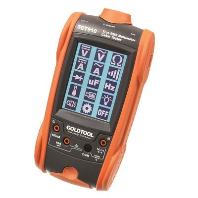 GoldTool TCT-910 Multimeter - Oranje