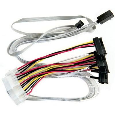 Adaptec ACK-I-HDmSAS-4SAS-SB-.8M Kabel - Multi kleuren