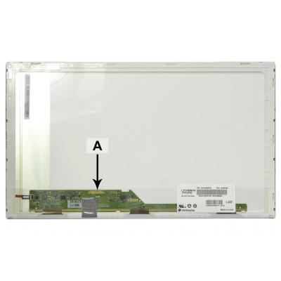 "2-power notebook reserve-onderdeel: 39.624 cm (15.6 "") 1366x768 HD+ LED Matte - Groen, Wit"