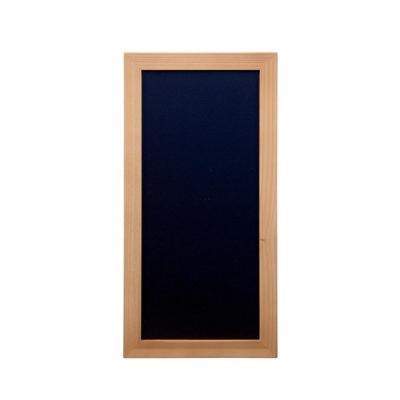 Securit bord: 200 x 400 mm, 374 g - Zwart, Hout