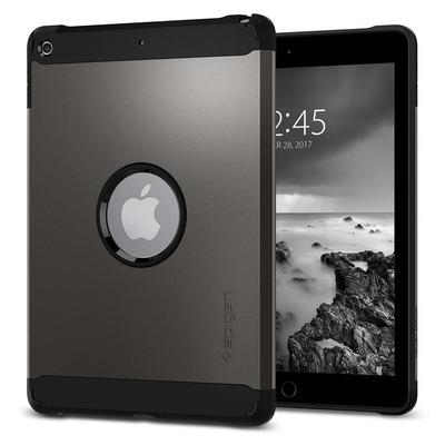 """Spigen iPad 9.7"""" Case Tough Armor Tablet case - Grijs"""
