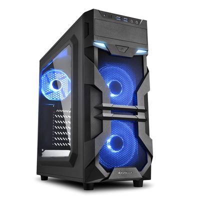 Sharkoon 4044951026852 computerbehuizingen