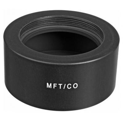 Novoflex Adapter M42 lenses to MicroFourThirds Lens adapter - Zwart