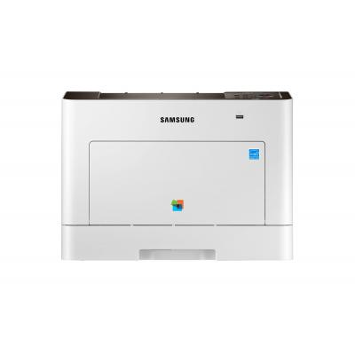 Samsung laserprinter: ProXpress A4 Kleuren Multifunction  (30 ppm) C3010ND - Wit