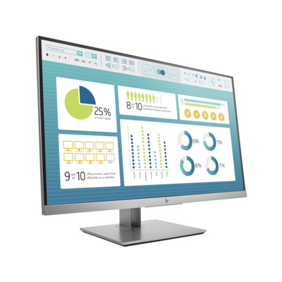 "HP EliteDisplay E273 27"" Full HD IPS Monitor - Zwart, Zilver"