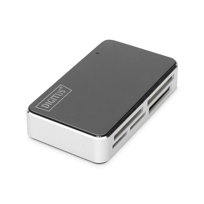 Digitus Card Reader USB 2.0, All-in-One supports T-Flash, incl. USB A/M to mini 5P cable Geheugenkaartlezer - .....