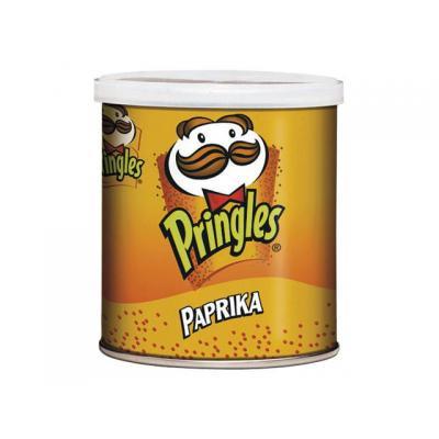 Pringles chip: Chips Paprika koker 40g/pak 12