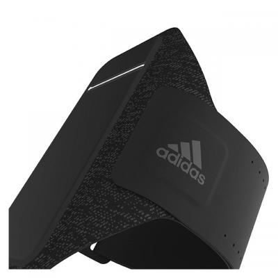 Adidas 4.7'', Universal, S, velcro, black Mobile phone case - Zwart