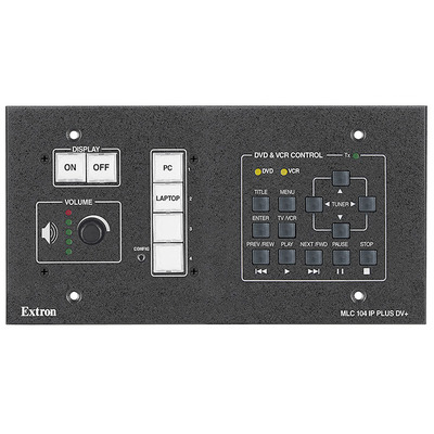 Extron MLC 104 IP Plus DV+ Wandzender
