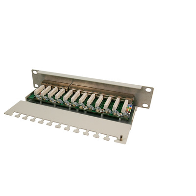Logilink patch panel: NP0041 - Grijs