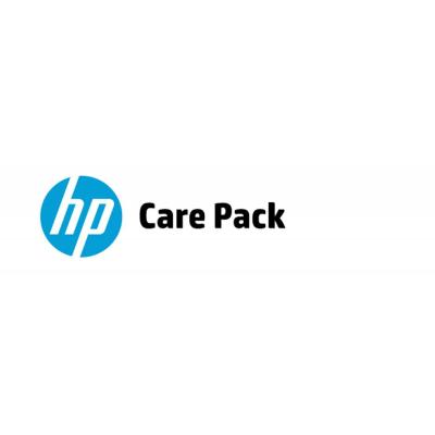 HP 3 jaar ondersteuning op locatie op de volgende werkdag (binnen- en buitenland) - Alleen voor notebook Garantie