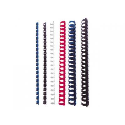 Staples inbindkit: Bindrug SPLS 6mm 21r zwart/doos 100