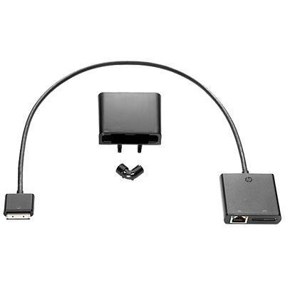 Hp kabel adapter: Tablet Module LAN Upgrade Kit - Zwart
