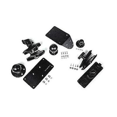 Honeywell RAM Mount Kit for VMC and Keyboard - Plate Base, Short Arm Montagekit - Zwart