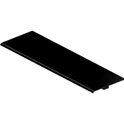Bachmann : Cover TOP FRAME 4-way black anodised - Zwart