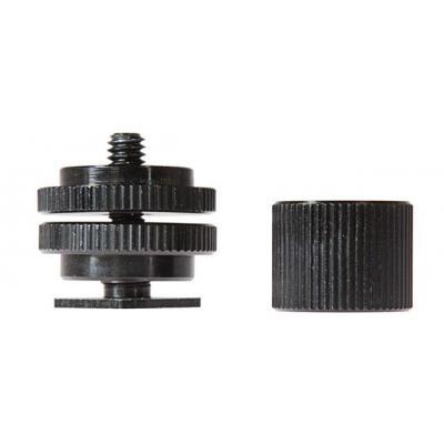 "Shape camera flits accessoire: 1/4-20"", Aluminium/Plastic, Black - Zwart"