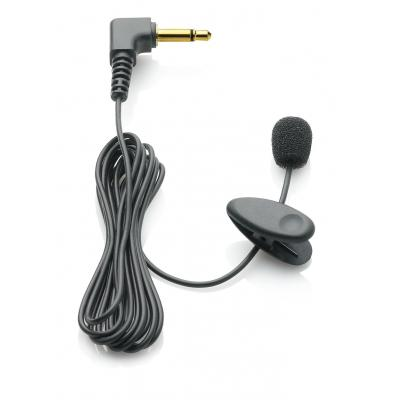 Philips microfoon: Microfoon met bevestigingsclip, 50 - 20000Hz, Zwart