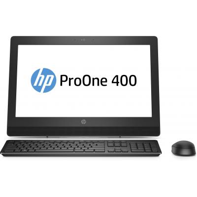 Hp all-in-one pc: ProOne 400 G3 - Zwart