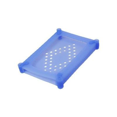 "Logilink : HDD Silicone Case for 2.5"" HDDs - Blauw"