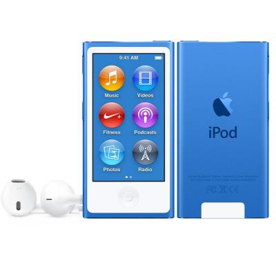 Apple MP3 speler: iPod Nano 16GB - Blauw