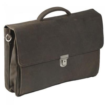 """Plevier laptop bag, 43.942 cm (17.3"""") , 3 gussets, 2.5 kg Laptoptas - Bruin"""