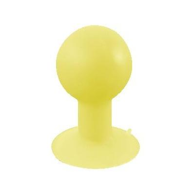 LogiLink iStand Rubber Stand for Smartphones, MP3 player etc., Yellow Accessoire  - Geel