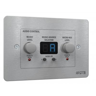 Apart volumeregelaar: ZONE4R remote control panel - Wit