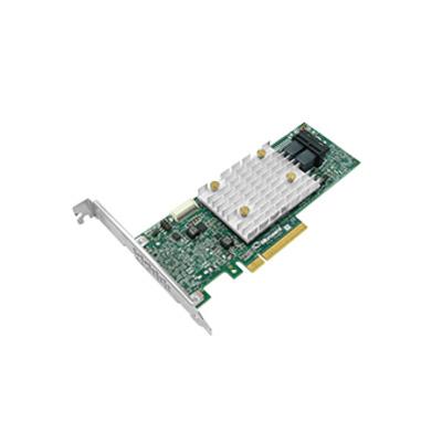 Adaptec interfaceadapter: SmartHBA 2100-8i - Goud, Groen, Zilver