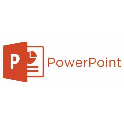 Microsoft PowerPoint Software licentie