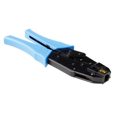 ACT Modulaire krimpRJ45 voor kabel met een buitendiameter van 7 tot 8 mm Tang - Zwart,Blauw