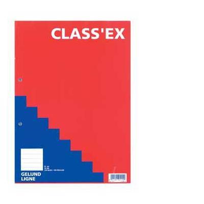 Class'ex CLASSEX CURSUSBL A4 70G 100V L Schrijfblok