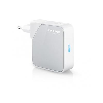 Tp-link wireless router: 300Mbps Wi-Fi Pocket Router/AP/TV Adapter/Repeater - Wit