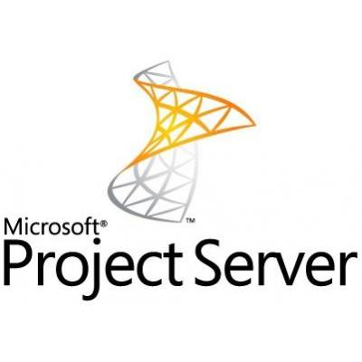 Microsoft project management software: Project Server, DCAL, OLV-D, 1U, 1Y, GOV, MLNG