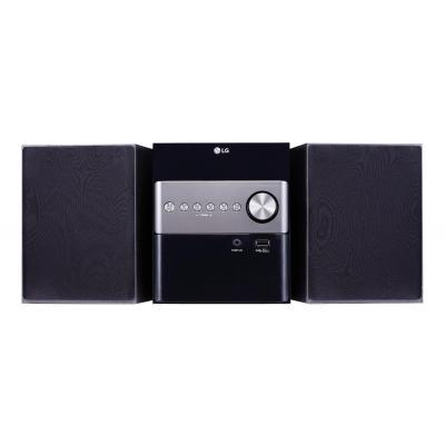 Lg home stereo set: CM1560 - Zwart